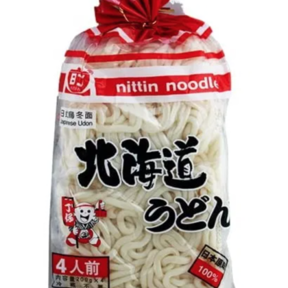 Packet of 800g udon noodles
